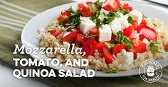 Mozzarella, Tomato, and Quinoa Salad