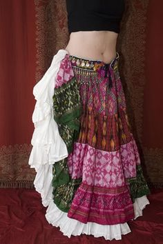Love this....I layer skirts like this all the time