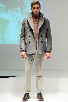 Hardy Amies Fall 2014 Menswear Collection Slideshow on Style.com Moda  Invernale 863b321de16