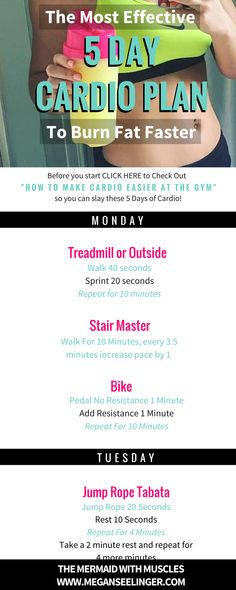 I'll show you How to make cardio fun at the gym, a few ways to do cardio without running or using any machines, the best way to add cardio to weight training, the most effective ways to do cardio to burn fat, the cardio machine settings that make cardio go by faster.