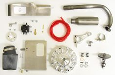 "Road Rocket Gokart Kit, 5"" Nylon Wheels"