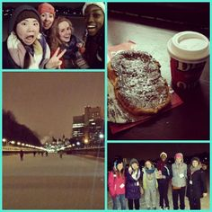 Good times on the Canal with friends (and BeaverTails pastries and hot chocolate!)  Instagram photo by @thefeisian (Fei Ge)