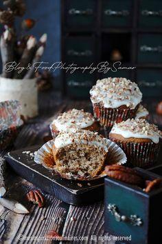 muffins banane et noix de pecan