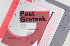 Vllg postgrotesk specimen