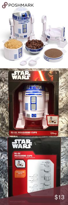 Selling this Star Wars R2-D2 Measuring Cups on Poshmark! My username is: refineselection. #shopmycloset #poshmark #fashion #shopping #style #forsale #Star Wars #Other