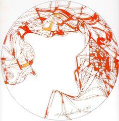 Valencia 2006. Mixta sobre papel. 30x30. Ignacio Klindworth