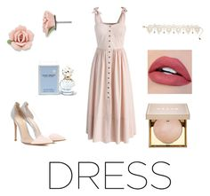 """""""To Wish"""" by nina-ann on Polyvore featuring Chicwish, Gianvito Rossi, 1928, Amrita Singh, Marc Jacobs and Stila"""