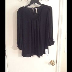 New black long sleeve blouse New black blouse NY Collection Tops Blouses