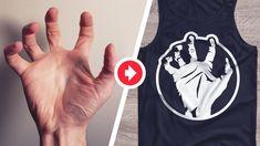 logo from photo Hands Tutorial, Gimp Tutorial, How To Make Logo, Create A Logo, Skincare Logo, Hand Drawn Logo, 2 Logo, Hand Photo, Affinity Designer