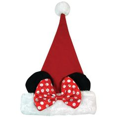 de2613a3326 Minnie Mouse Plush Santa Hat - Holiday Party Supplies SmileMakers  http   www. Christmas Gifts ...
