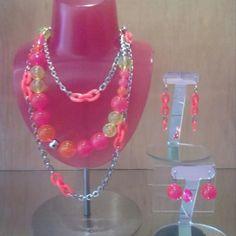 Tarina Neon Brights Tarina Tarantino, A Perfect Day, Crochet Necklace, Sparkle, Neon, Jewelry Ideas, Necklaces, Fashion, Moda