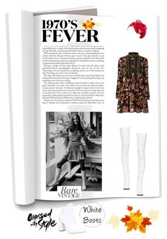 """Autumn 🍂 Fever: White Boots👢"" by yemmy-made ❤ liked on Polyvore featuring Dodo Bar Or, Rinati Lakel, Haider Ackermann, Liliana and freestyle"