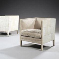 fauteuil cube, jean-Michel Frank, 1928
