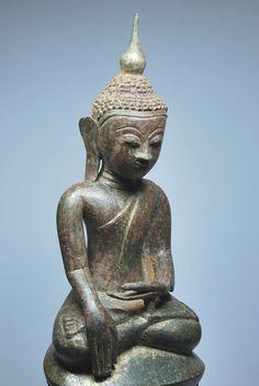 Sitting Buddha, Shan period, 18th century, Burma