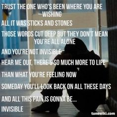 Invisible-Hunter Hayes love this song