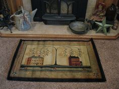 Rug! https://www.facebook.com/pages/Primitive-Country-Treasures/100991083354848