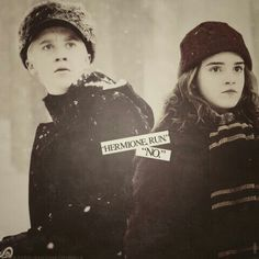 """dauntlessincendio: """"Hermione,"""" he was using her first name… he never used her first name unless he was preparing to share a persona moment or prevent her from getting hurt/in trouble. Nervously, the girl turned her head, now fully able to rest her brown hues upon his surprisingly fearful expression.""""Malfoy?"""" She wasn't comfortable calling him 'Draco' yet. """"Malfoy, what is it?"""" """"Hermione, run. Run and don't look back."""" Silence. """"No. Not without you."""" AU: Dramione (drabble snippet)"""