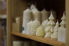 Loads of beeswax candles Beeswax Candles, Bath Salts, Bath Bombs, Soap Making, Fragrance, Store, Food, Design, Bath Scrub