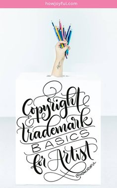 Copyright and Trademarks are many times very hard to understand, and research. That's why I wrote a full post explaining everything I wish I knew before publishing  my first product for sale. #trademarkforartist #copyrightforartist #trademarkbasics #copyrightbasics #protectyourart