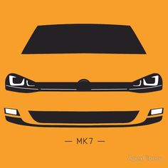 VW Golf MK7 simple front end design