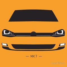 VW Golf MK7 simple front end design