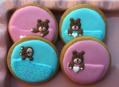 Xocolat and co: Galletas decoradas bebés / Decorated cookies baby shower