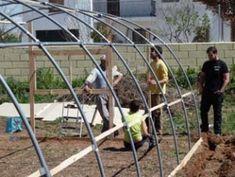 Cómo hacer tu propio invernadero con tubos de PVC – huertaelcampichuelo Ideas Para, Margarita, Gardens, Carp, Greenhouse Gardening, Growing Vegetables, Pvc Pipes, How To Build, Green Houses