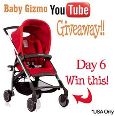Baby Gizmo Day 6 - Win an Avio Stroller.
