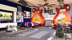 Beatles rockband Room