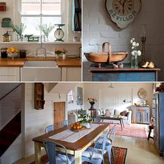 Guest house in Australia ..this is not a really small house but you can envision how the Sq. Footage could easily be decreased and still remain lovely, and the decor is perfection! Lots of pics at site