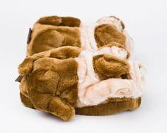 Bulldog Slippers | Dog Slippers, Animal Slippers | BunnySlippers.com