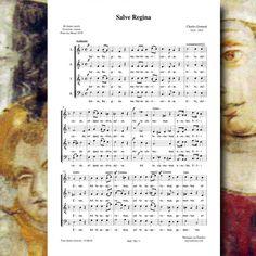 Charles GOUNOD : Salve Regina. Editions Musiques en Flandres - référence MeF 790