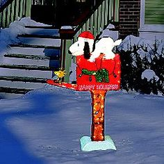 107 Best Snoopy Mailboxes images in 2018 | Letter boxes, Mailbox ...