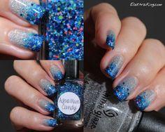 Blue Tinsel Lynnderella AquaMan Candy