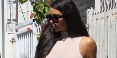 Kim Kardashian's Latest See-Through Top Is Extra Nipple-y - Cosmopolitan.com