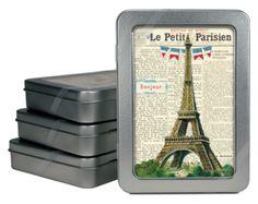 Vintage Paris Note Cards from Cavallini. #Paris #France #Cavallini #design #stationery