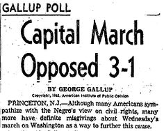 A look at an L.A. Times story that ran prior to the March on Washington.
