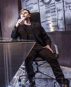 Dane Dehaan as Harry Osborn in the amazing spiderman 2
