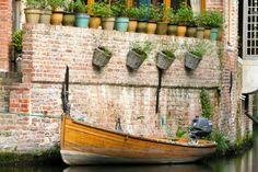Belgium, Ghent flowerpots, boat on canal Visit Belgium, Ghent Belgium, Beautiful Streets, You Are Beautiful, Marriott Hotels, Design Museum, Bruges, Public Transport, Old Town