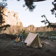 "sanborncanoecompany: "" Smith Rock, Oregon. #ScoutForth folks. Photo by @careyquintonhaider """