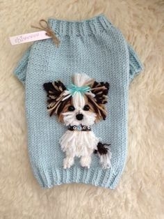 35 Ideas Knitting Patterns Dog Sweater Ideas For 2019 Yorkie Clothes, Pet Clothes, Funny Clothes, Crochet Dog Sweater, Puppy Pads, Dog Clothes Patterns, Pet Fashion, Fashion Ideas, Dog Pattern