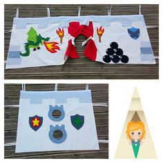 Children's Bed Tent Knight's Castle Dragon's Lair by TwinklePlay
