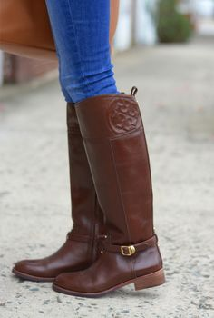 Tory Burch 'Kiernan' Riding Boots | Winter Fashion | The Memphis ...