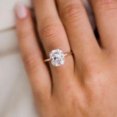 Details about  /Fine Engagement Oval 9x11mm Natural Diamonds Semi Mount 10K Rose Gold Pendant
