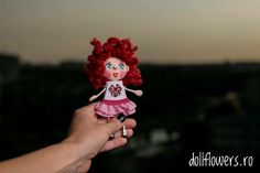 Little doll with little Minnie!