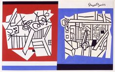 SFMOMA | Explore Modern Art | Our Collection | Stuart Davis | Deuce