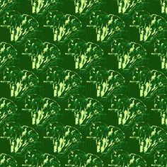Broccoli in green fabric by plaid_thursdays on Spoonflower - custom fabric Green Fabric, Custom Fabric, Spoonflower, Broccoli, Herbs, Plaid, Vegetables, Digital, Wallpaper