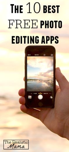 10 Awesome {& Free} Photo Editing Apps! www.makesellgrow.com#cheat#photo#click#tips