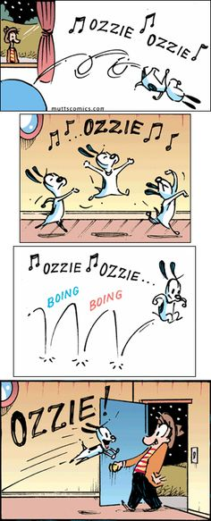 Mutts Comic - Earl & Ozzie - Reminds me of Mitzi! @Rachel Beavers & @Esther Aduriz B