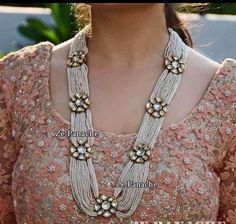 VeroniQ Trends-Replica Sabyasachi Designer Rani Haar Style in Kundan/Polki Necklace Set very High Quality -D9-Bridal,Wedding,Engagement,Royal,Party,Sabyasachi Each piece of VeroniQ Trends jewellery is expertly crafted and loving hand-finished by VeroniQ Trends talented crafts people, who bring the